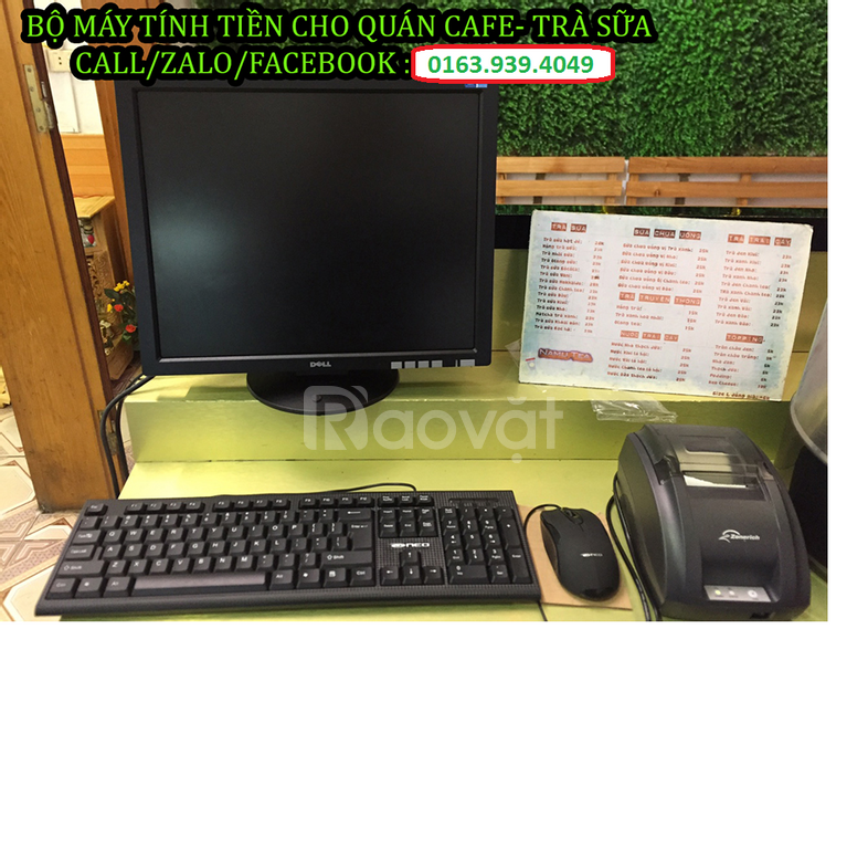 Lắp đặt máy tính tiền cho quán cafe giá rẻ tại Lai Châu