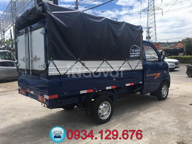 Đại lý bán xe tải Dongben 870kg thùng dài 2.45m trả góp