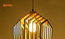 Đèn lồng gỗ lục giác LW1811