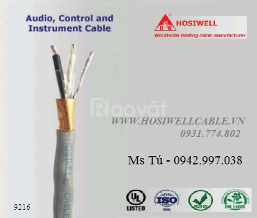 Cáp tín hiệu vặn xoắn 16AWG (1.25mm2 - 1.5mm2) - Cáp loa âm thanh