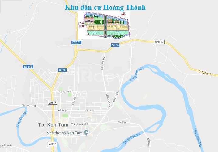 KDC Hoàng Thành Kon Tum, cơ hội đầu tư vàng 2019 cho nhà đầu tư