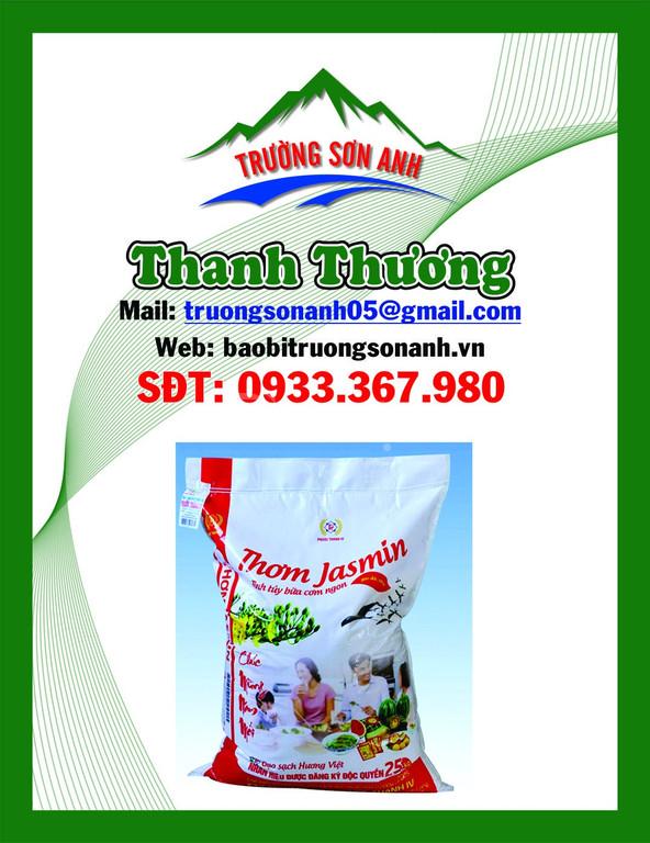 Chuyên sản xuất bao bì gạo, tinh bột, thực phẩm giá rẻ