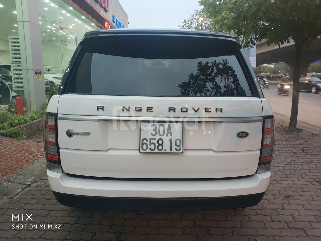 Bán Range Rover HSE sản xuất 2014 màu trắng