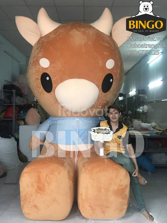 Gấu bông khổng lồ,gấu brown khổng lồ