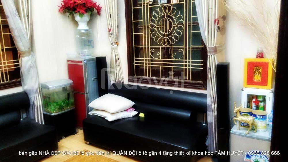 Nhà đẹp phố Tam Khương: DT 30m2 x 4 tầng, MT 4m
