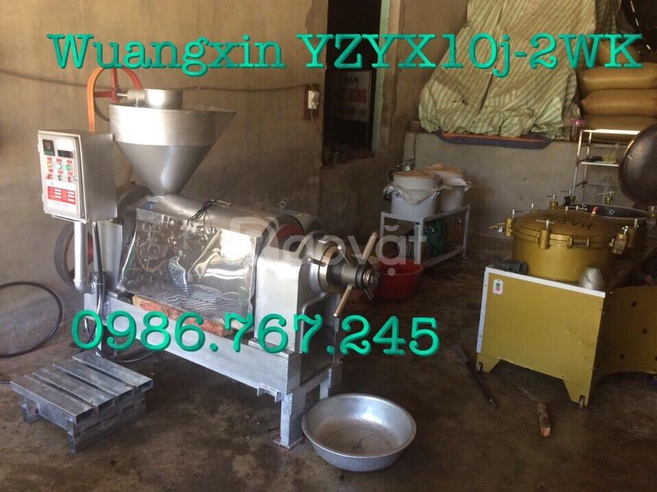 Máy ép dầu lạc guangxin yzyx10j-2wk công suất 80-100kg/h (ảnh 1)