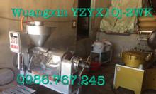 Máy ép dầu lạc guangxin yzyx10j-2wk công suất 80-100kg/h