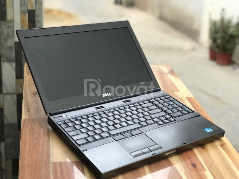 Laptop Dell Precision M4600 i7 2620 8G SSD 15.6in VGA game đồ họa 3D