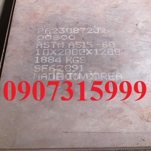 Bảng giá thép tấm chịu nhiệt A515, A516, tất tần tật về thép a515 hot