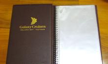 Nơi sản xuất bìa menu, địa chỉ cung cấp bìa menu gỗ, nơi làm bìa menu,