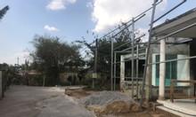 Nhà 155m2 mặt tiền đường nhựa KCN Bàu xéo