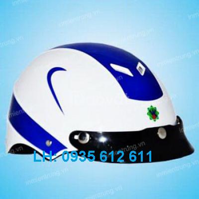 Sản xuất mủ bảo hiểm Đà Nẵng-in logo mủ bảo hiểm Đà Nẵng