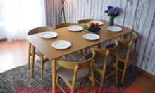 Thanh lý 50 bộ bàn ghế gỗ nhà hàng cao cấp giá rẻ