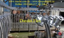 Ống nối mềm chịu nhiệt, ống mềm inox dẫn xăng dầu,khớp chống rung inox