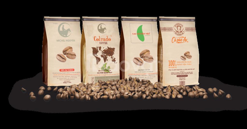Chuyên cung cấp túi cà phê, trà xanh giá tốt trên toàn quốc