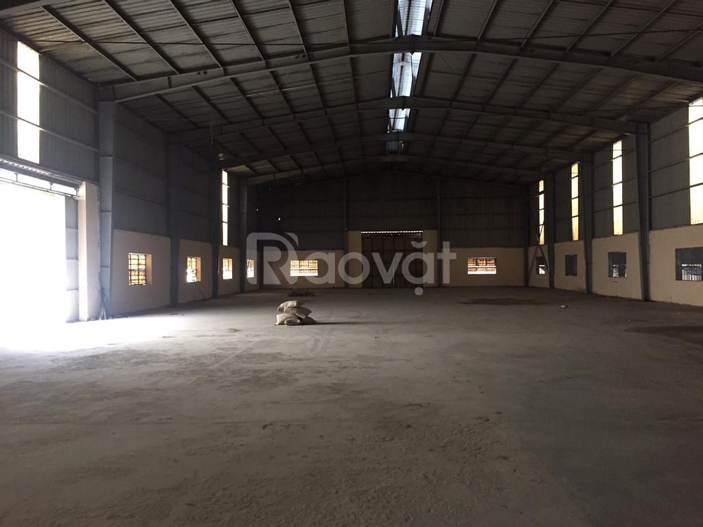 Bán kho xưởng DT 3650m2 cụm CN vừa và nhỏ Từ Liêm Hà Nội.