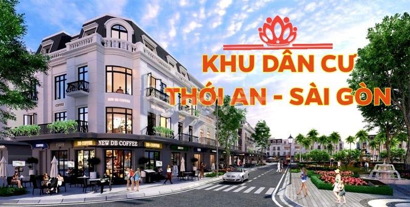 Khu dân cư Thới An Sài Gòn quận 12