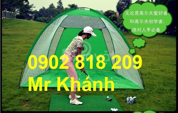 Khung lều tập golf di động