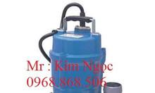 Bơm nước thải hố móng tsurumi 1.5kw, 0.75kw