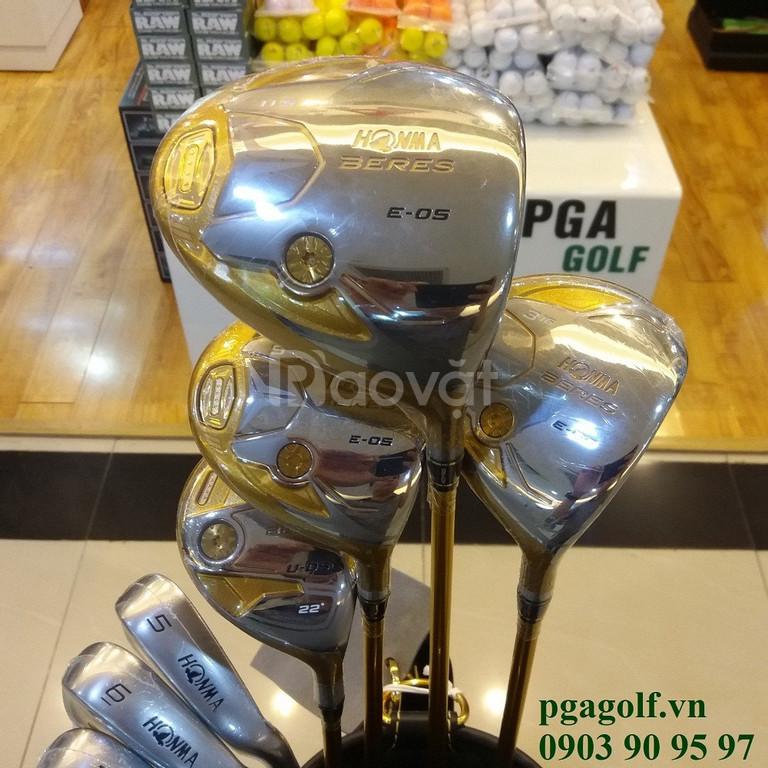Fullset gậy golf Honma E-05 4 sao giá Sock tai PGA Golf
