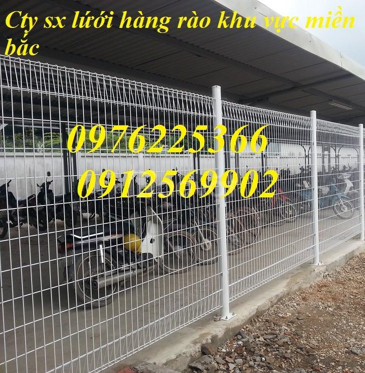 Lưới hàng rào D3,D4, D5, D6 mạ kẽm, sơn tĩnh điện