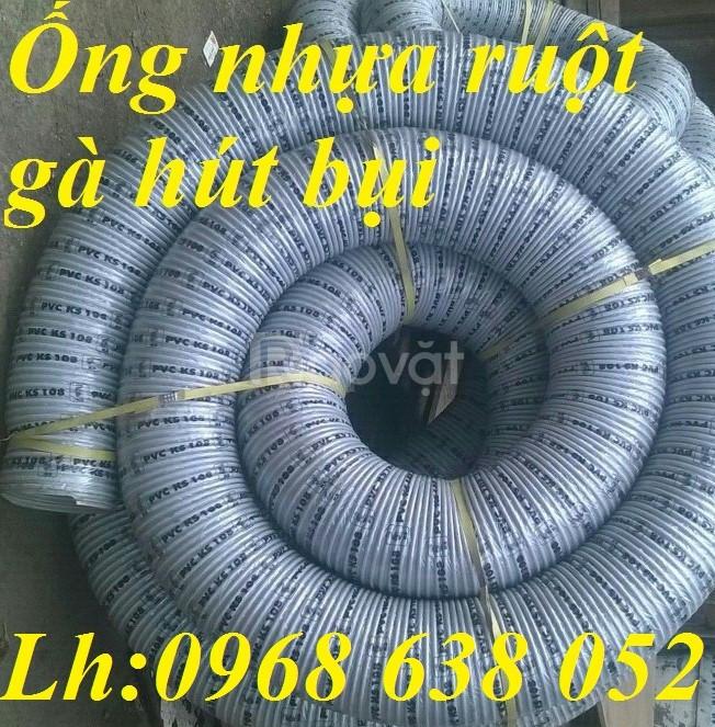 Ống nhựa ruột gà hút bụi phi 114, phi 168, phi 200, phi 250, phi 300