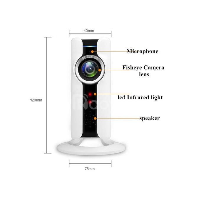 Camera WiFi Wintech WTC-IP304 độ phân giải 1.0 MP