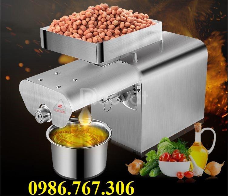 Máy ép dầu gia đình giá rẻ,máy ép dầu inox TA2 giá tốt thị trường