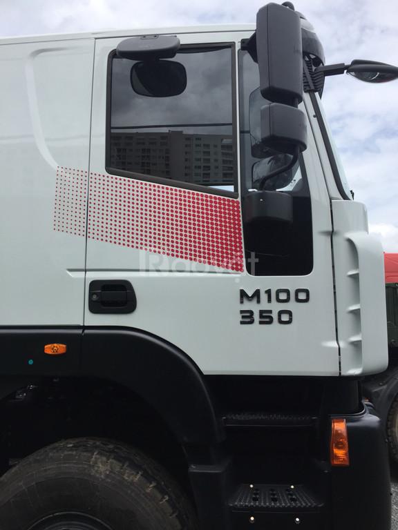 Xe trộn bê tông Hongyan Iveco 10m3 Euro 4- Bồn trộn CIMC 2019