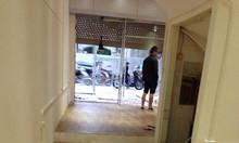 Sàn nhựa vân gỗ phòng khách văn phòng Hà Nội