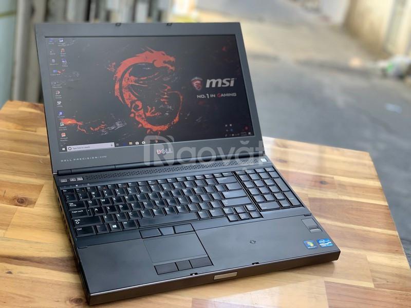 Laptop Dell Precision M4600 i7 8G 1000G 15in Vga 2G Game Đồ hòa 3D ngu