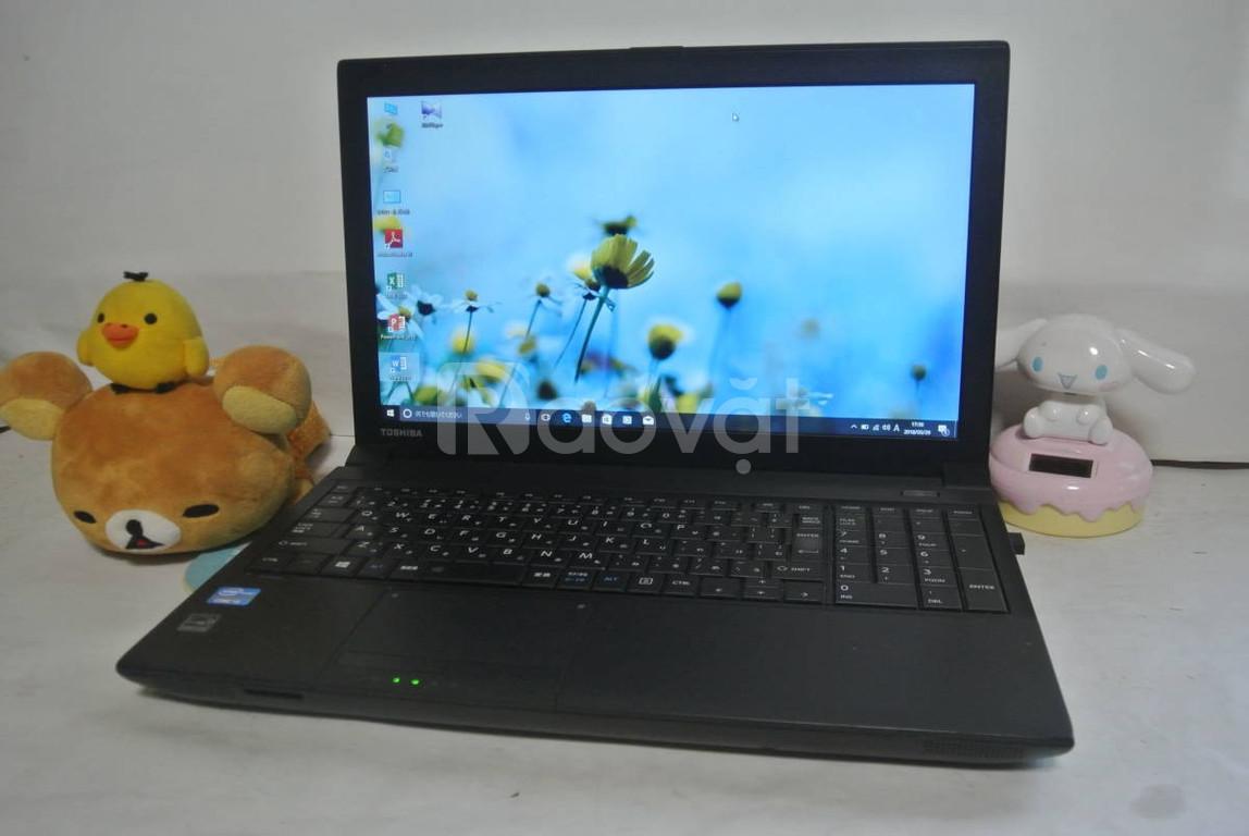 Toshiba B553 i5 2.6Ghz 4G 128G SSD 15.6 bền bỉ văn phòng bán hàng