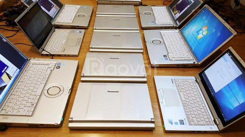 Laptop Panasonic CF SX2 i5 2.7ghz 4G ssd 12in 1600x900 Webcam HDMi nhỏ