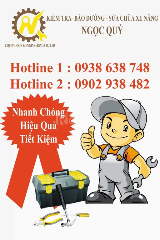 Sửa chữa, bảo dưỡng xe nâng tại Bình Dương, HCM, Đồng Nai, Long An