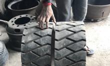 Vỏ đặc cũ xe nâng | lốp xe cao su đặc