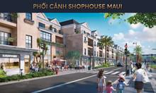 Nhà phố thương mại 4 tầng gần Cocobay, thanh toán 1,4 tỷ nhận nhà
