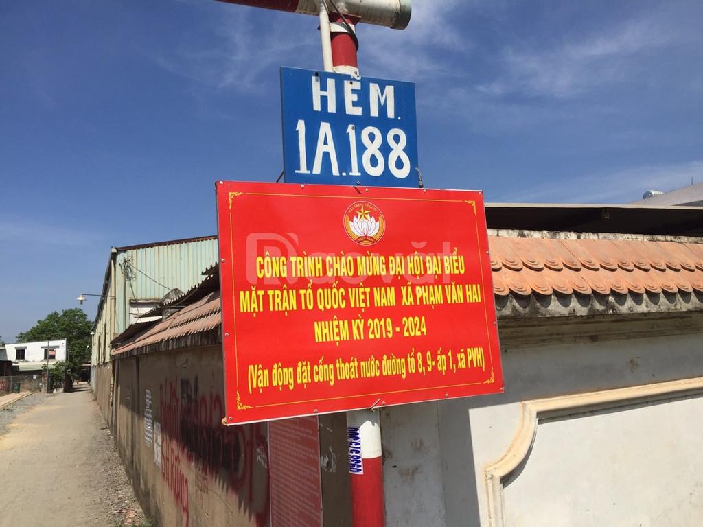 Đất xây nhà Phạm Văn Hai, Bình Chánh