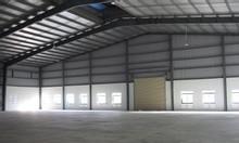 Cho thuê xưởng làm gara ôtô mặt phố Nam Từ Liêm, MT 40m, DT 800m2