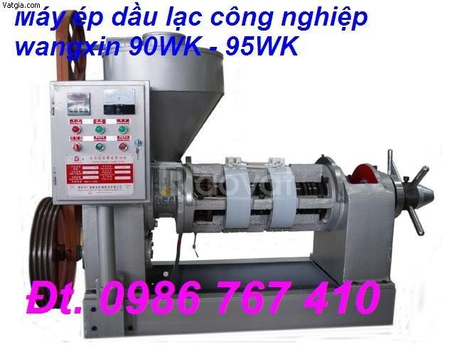 Máy ép dầu lạc công nghiệp 100 -200kg/h