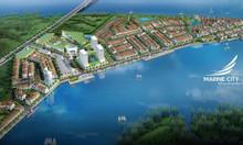 Chính chủ bán gấp lô nền 120m2 Marine City ven sông Cửa Lấp, Vũng Tàu.