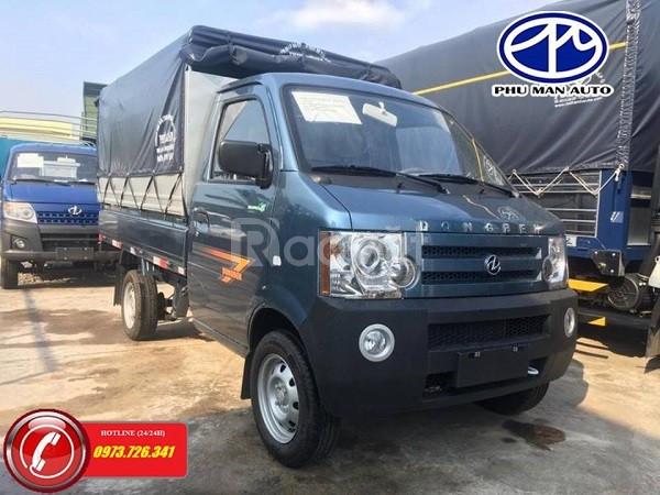 Xe tải nhẹ Dongben 810kg thùng mui bạt giá cạnh tranh