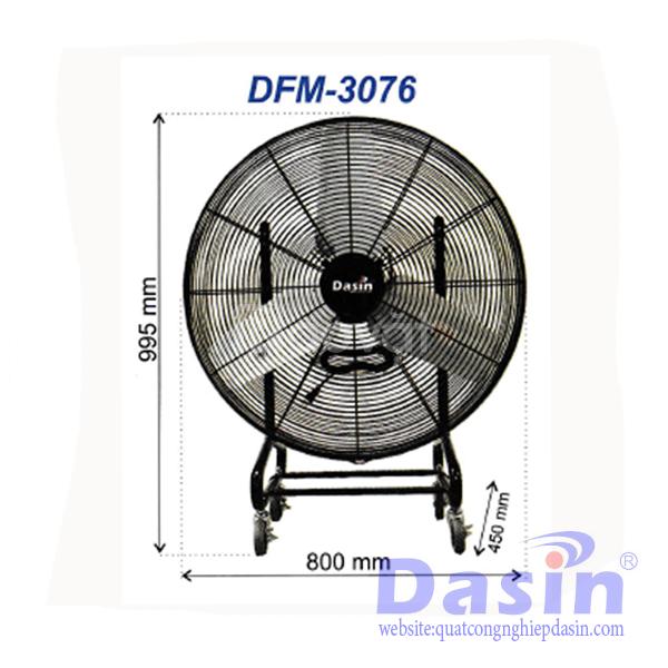 Báo giá quạt mát di động Dasin KMY-1845