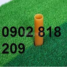 Tee golf cao su màu vàng