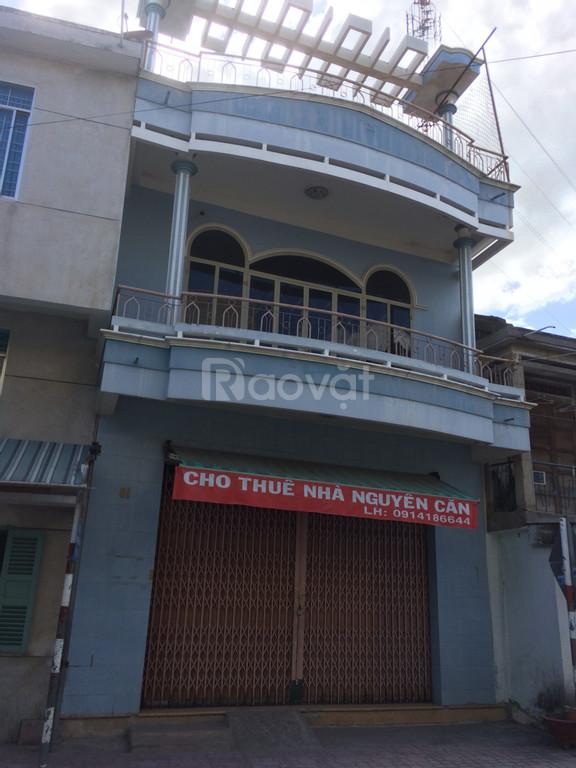 Nhà cho thuê 2 mặt tiền đường chính Trần Quý Cáp - Ninh Hòa- KH