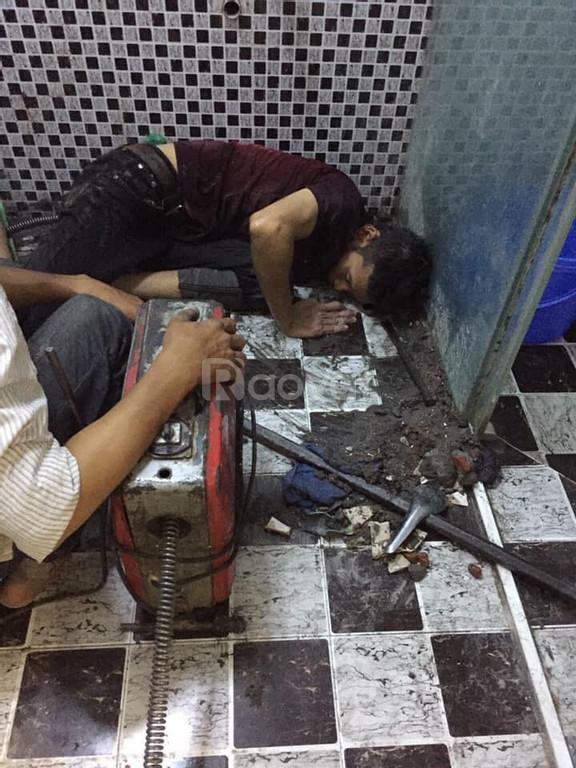 Thông nghẹt bồn rửa chén, cống ngầm, rút hầm cầu phường Phú Mỹ Quận 7