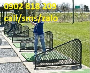 Gương cầu, vách ngăn sân tập golf