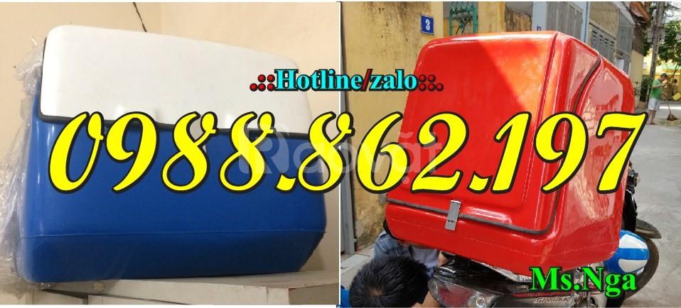 Sản xuất thùng nhựa composite, thùng giao hàng giá rẻ loại lớn, thùng