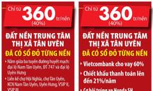 Đất thổ cư giá rẻ Hội Nghĩa - KCN Nam Tân Uyên