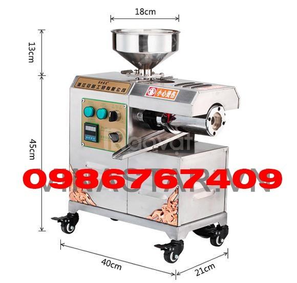 Máy ép dầu thực vật 10kg/h 30W268 ép dầu kinh doanh