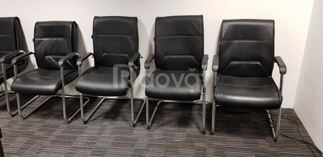 Thanh lý 6  ghế họp văn phòng new 99%
